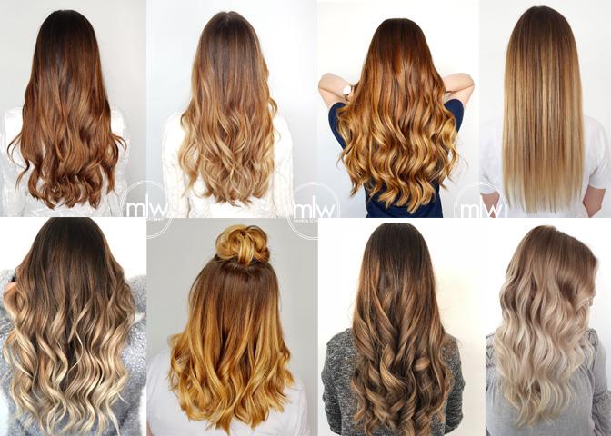 Angesagte haarfarben