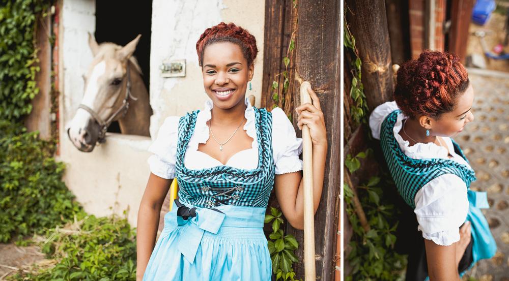Oktoberfest Frisuren Kollektion Pracht Mädchen Marie Luise Weber
